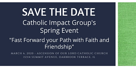 Catholic Impact Group's Spring Event tickets