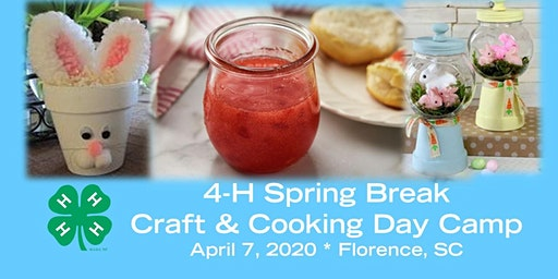 4-H Spring Break Craft & Cooking Day Camp