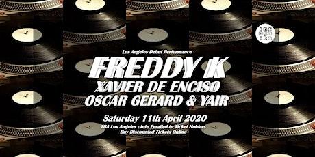 INCOGNITO presents FREDDY K [  LA Debut - Key Vinyl, Berlin ] tickets