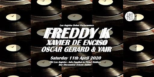 INCOGNITO presents FREDDY K [  LA Debut - Key Vinyl, Berlin ]