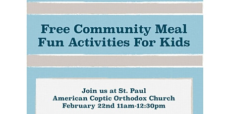 FREE HEALTHY MEAL  IN THE COMMUNITY tickets