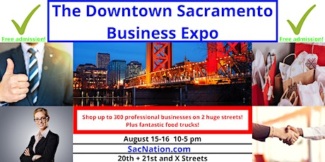 The Downtown Sacramento Business Expo tickets