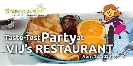 Stargold's Nutrition Foundation Recipe Contest tickets