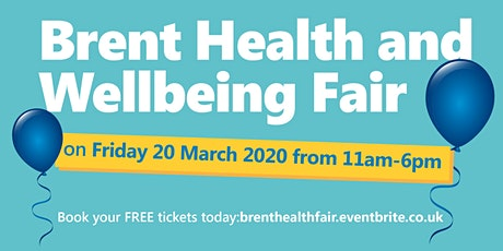 Brent Health and Wellbeing Fair tickets
