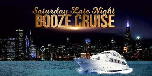 Saturday Late Night Booze Cruise aboard Chicago Spirit