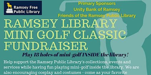 Ramsey Library Mini-Golf Classic Fundraiser