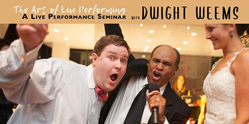 "Dwight Weems: ""The Art of Live Performing"" at Stages Music Arts on 3/14"