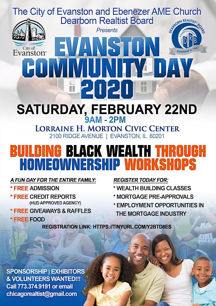 Evanston Community Wealth  Building Day image