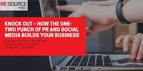 Knock out – how the one-two punch of PR and social media builds your BIZ tickets