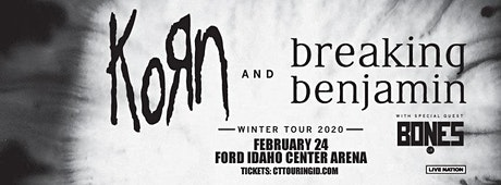 Korn & Breaking Benjamin tickets