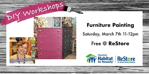 Painted Furniture DIY Session March 7