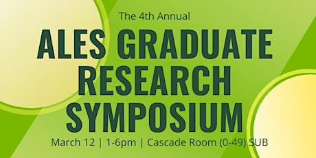 ALES Graduate Research Symposium 2020 tickets