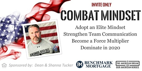 Combat Mindset: Dominate the Real Estate Market in 2020 tickets