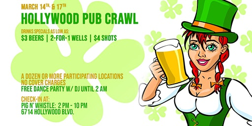 Hollywood St Patrick's Day PubCrawl