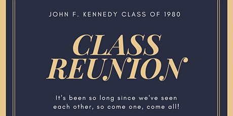 JFK Class of 1980 Reunion tickets