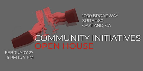 Community Initiatives OPEN HOUSE 2020 tickets