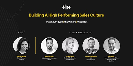 The Elite | Building A High Performing Sales Culture tickets
