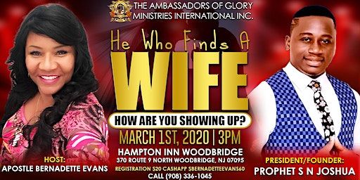 TAGMI USA Presents  He Who Finds A Wife, How Are You Showing Up