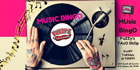 MUsic BingO @ Fuzzy's Taco Shop tickets