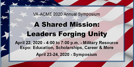 Virginia Advisory Council on Military Education 2020 Symposium tickets