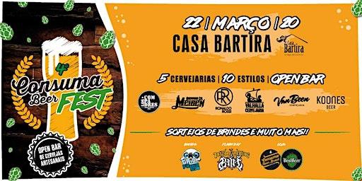 4º CONSUMABEER FEST - 2020 - Cerveja sem frescura! (1º LOTE)
