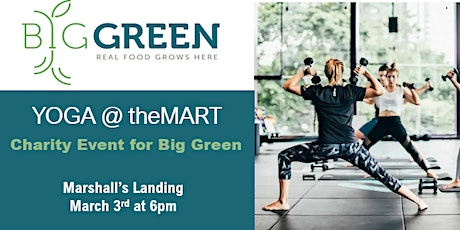 Yoga at theMART with Big Green tickets