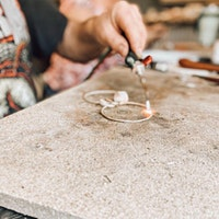 Intro to Silversmithing; Affirmation Meditation Bangle Workshop