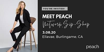 Meet Peach Sip + Shop at Ellavae