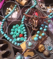 Jewelry Design: Salvaged materials