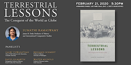 Faculty Bookwatch: Terrestrial Lessons: The Conquest of the World as Globe tickets