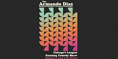 The Armando Diaz Experience tickets