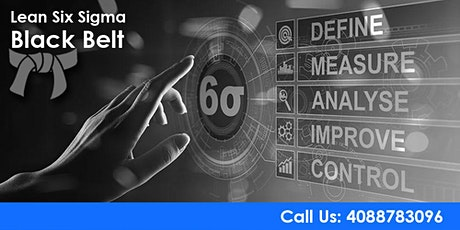 Lean Six Sigma Black Belt Certification Training in Los Angeles tickets