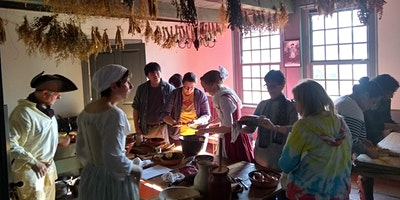 Exploring Colonial Flavors: 18th Century Cooking -