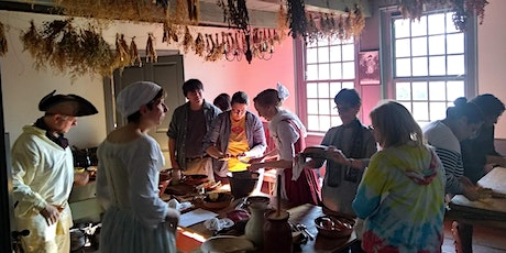 Exploring Colonial Flavors: 18th Century Cooking - POSTPONED tickets