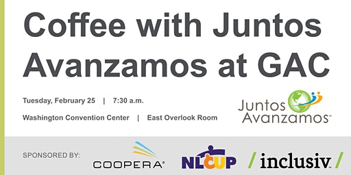 Coffee with Juntos Avanzamos at GAC