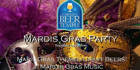 Mardis Gras Celebration at Carolina Beer Temple (Ayrsley) tickets