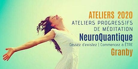 Granby | Ateliers progressifs de méditation NeuroQuantique 1 billets
