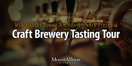 MtA Halifax Young Alumni Network Presents: Craft Brewery Tasting Tour