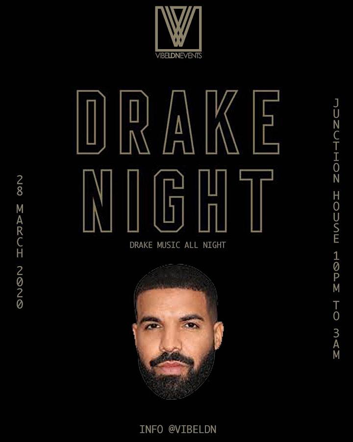 DRAKE NIGHT   Drake Music All Night image