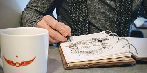 Blackberry Master Class: Coffeehouse Drawing with Stan Emmert