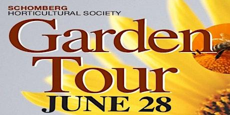 Cancelled ! Schomberg Garden Tour tickets