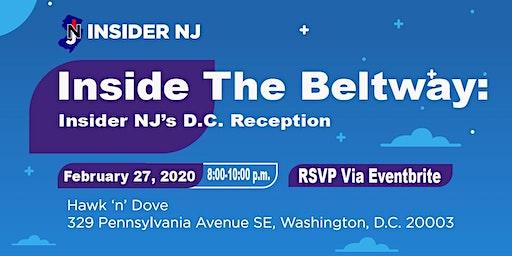 Inside The Beltway: Insider NJ's DC Reception