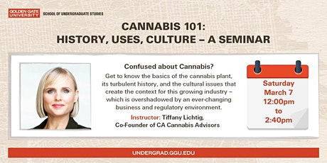 Cannabis 101: History, Uses, Culture tickets