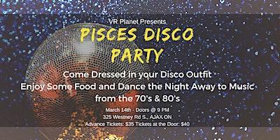 Pisces Disco Party @ VR Planet