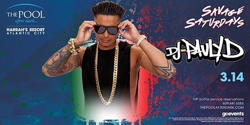 DJ Pauly D | Epic Saturdays at The Pool After Dark REDUCED Guestlist