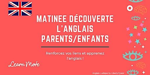 Matinée découverte - Cours Anglais parents/ enfants