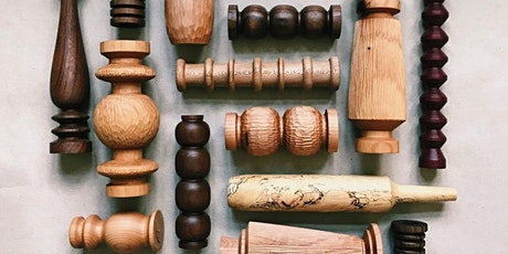 Turning on the Lathe: Candlestick Holders with Hanna Dausch tickets