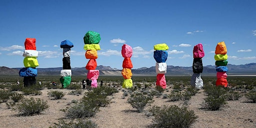 Seven Magic Mountains & Ghost Town Experience