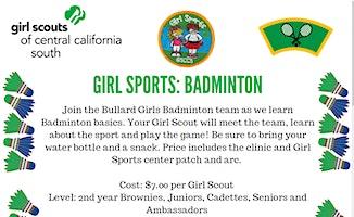 Girl Sports: Badminton - Fresno