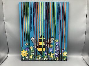 Family Art Night: Acrylic Bee Painting tickets
